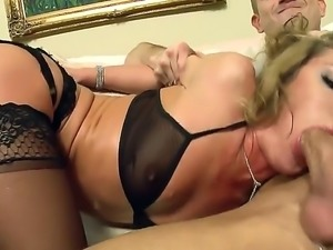 Sheena Shaw will let a guy fuck her only under one condition. And that is if...