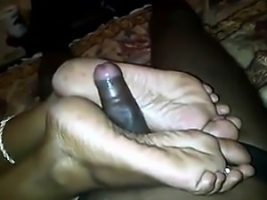 Footjob By An Naughty Indian Mother POV