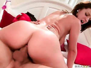 Jada Stevens with small tits gets her fudge packed by Danny Mountain in anal...