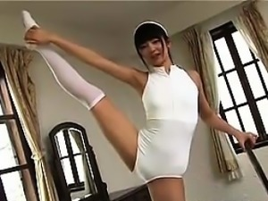 Cutie Japanese Girl In A Swmsuit Softcore