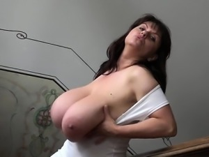 Big tits anal squirt