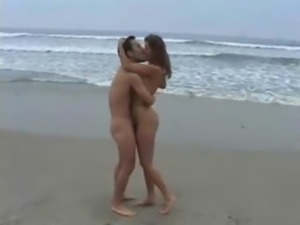 Couple fucking hard on Beach free