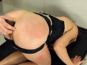 Extreme BDSM toilet slut penetrated anally hard