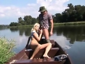 Fucking in a rowboat