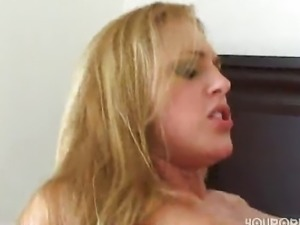 girls shave his ass before the threesome
