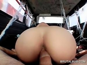 Horny amateur girl blowing monster dick in POV