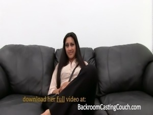 Persian Squirter Anal Fail Creampie Win on Casting Couch free