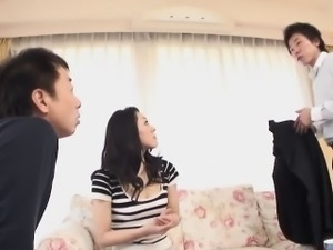 Mature Japanese darling Ruri Hayami gets used by her man\'s