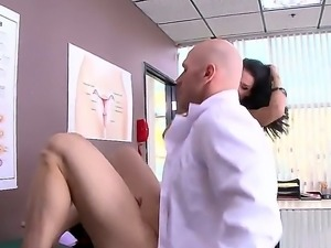 Peta Jensen is a busty woman that is here to see the doctor. She has never...