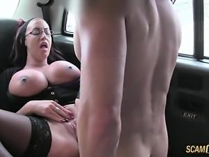 Super sexy secretary gets banged hard