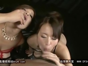 Extreme Asian Blowjob