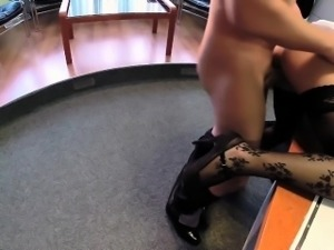 FakeHospital Businessman gets seduced by nurse in stockings