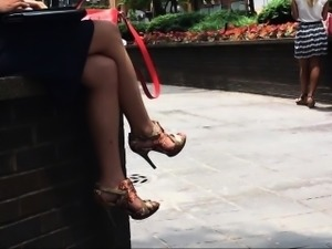 Company woman pumps and fantastic feet