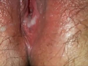 Leaking sperm