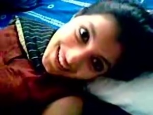 Very Beautiful Desi Indian GF Super Foreplay to BF and Rides on His Dick