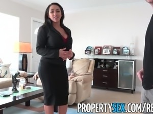 PropertySex - Busty real estate agent fucking