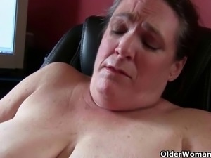 My favorite videos of BBW milf Lisa Cougars, Grannies, Matures, Collection