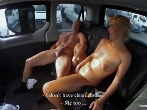FuckedinTraffic - Slut getting fucked till she gets sweaty