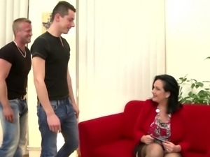 Super mothers seducing young rent-boys
