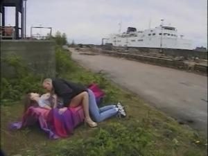 Danish pornstar Sabina Public-sex