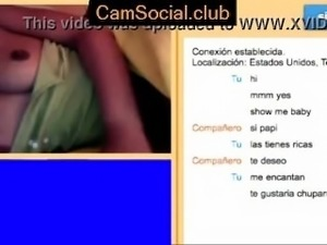 Teenager Teasing on CamSocial.club