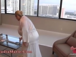 Huge Fake Tit Claudia Marie Meets The Anal Guru