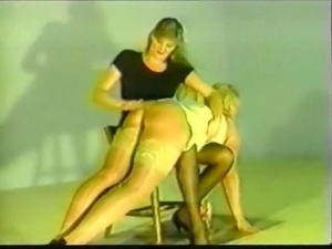 Retro Female gets spanked and fucked.
