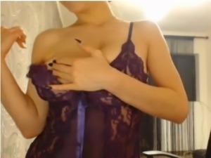 Huge tits on cam