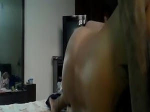 Lovely Indian wife fucked with husband friend