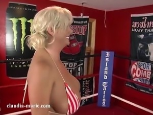 Saggy Tit Punching Bags