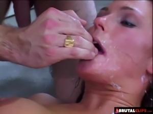 BrutalClips - Venus Gets Her Anus and Pussy Destroyed
