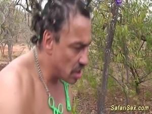 extreme fetish safari lesson