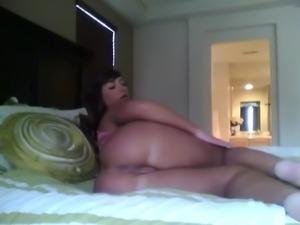 spreading ass tease