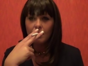 smoking fetish