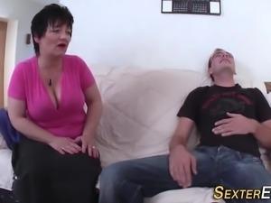 Tit fucking german milf