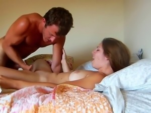 Emotional Couple Home Fuck