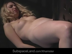 Young slave suffering humiliation in bdsm educational fuck