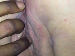 Fingering Bbw ass and pussy