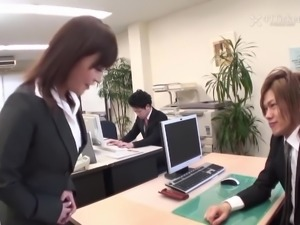 Yui Ayana Fucks Her Bosses (Uncensored JAV)