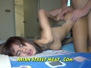 Gold Underwear Sodomized Up Her Thia Ass