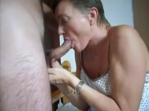 Granny Loves Cum 1
