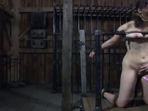 Marina was addicted to BDSM, but this painful session really tested all her...