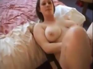Fucking a big natural tits girl