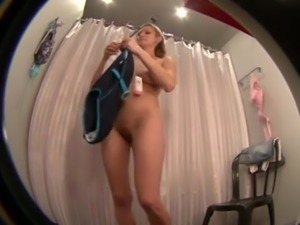 Hidden camera in dressing room # 1