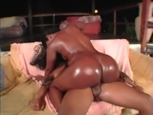 big black ass fucked by a huge brazilian cock !