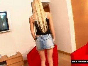 A teen sex casting with Valentina Rossi....