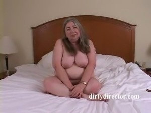 Grandma Goes Crazy When Ass Fucked