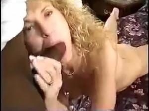 Skinny MILF is a black cock slut