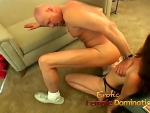 Saucy brunette wench has her pussy licked and drilled hard