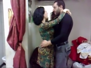My Pakistani wife knows how to kiss like a pro and she's got a nice ass